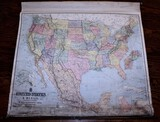 Early United States and Mexico Map