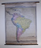 1919 Map of South America