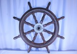 Antique Early Ships Wheel