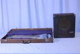 1937 Vega Steel Guitar With Matching Amplifier