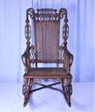 Victorian Wicker Rocking Chair