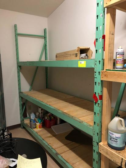 Heavy Duty keyhole pallet racking