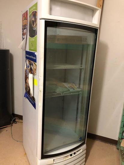 single-door freezer