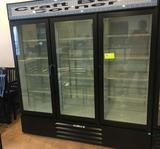 Three door commercial refrigerator