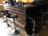 Corner Bar, includes 9 barstools