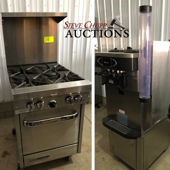 Quality Food Service Equipment Auction