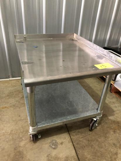 Stainless utility cart