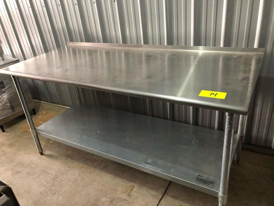 Stainless table 6'x30""