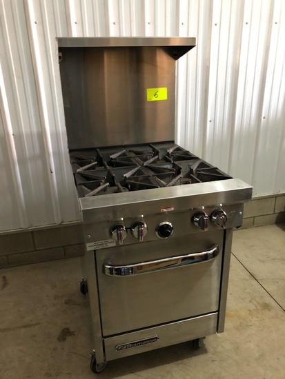 Southbend 4-burner stove