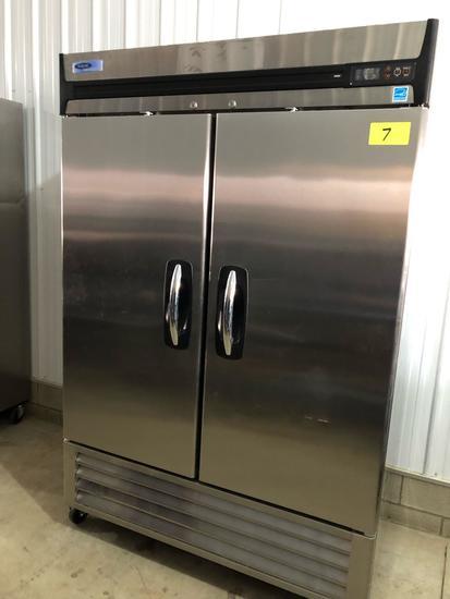 Norlake 2-door stainless freezer