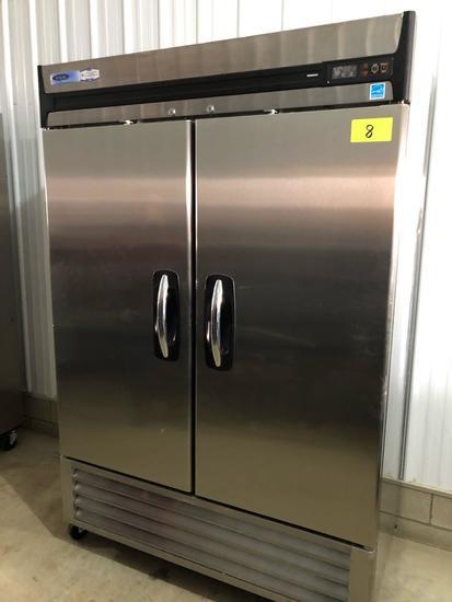 Norlake 2-door stainless cooler