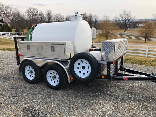 2017 Trailer Mounted Vac Tank