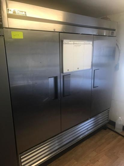 True Brand 3 door Refrigerator 115 volt model TS-72.