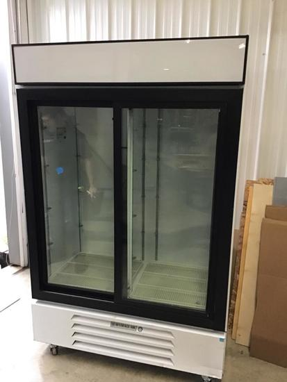 Beverage Air 2 Door Fridge Model # 2V45-1-W