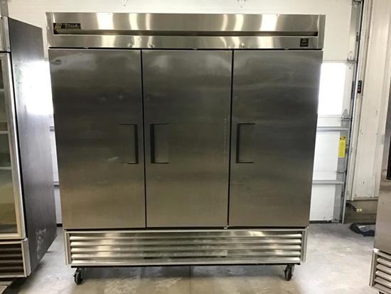 True Brand Fridge 3 Door Cooler Model # TS-72