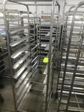 Bakery Cart 70 inch tall, Stainless steel