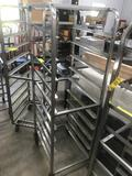 69 inch tall Bakery Cart, Stainless Steel