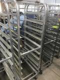 Aluminum Bakery Cart 69 inch tail
