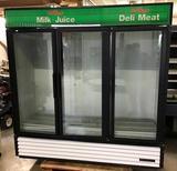 True Brand 3 Door Cooler G DM-72