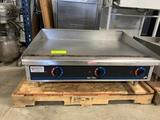 36 inch Electric Star Griddle, Thermo control M536 TG