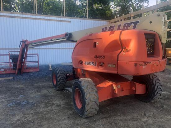 JLG 460 SJ 2002 model with 1408 hours