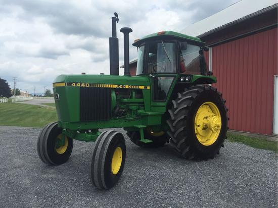 John Deere 4440 with cab. power shift