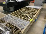 Pallet of Keyhole Racking