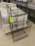 Wire display shelf