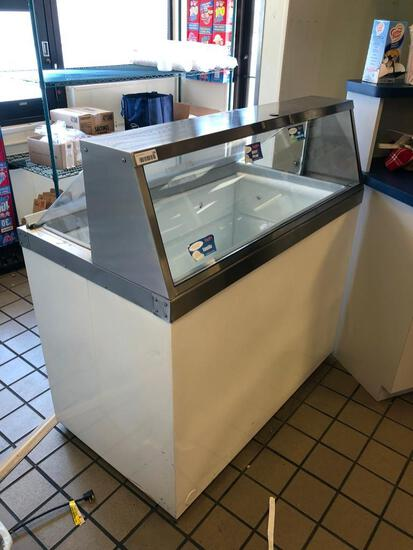 4' Ice Cream dipping cabinet