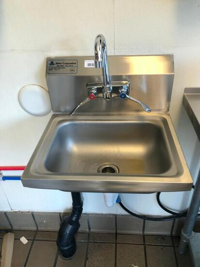 "17"" Stainless wall sink"