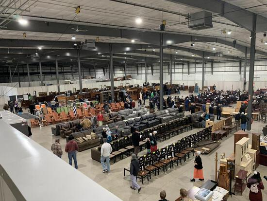 12th Annual Indiana Amish Furniture Auction