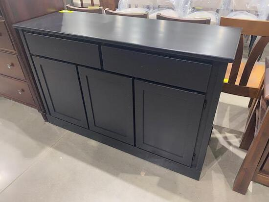 "Maple Buffet server 57"" x 20"" x 36 1/2"" Stain: Onyx"