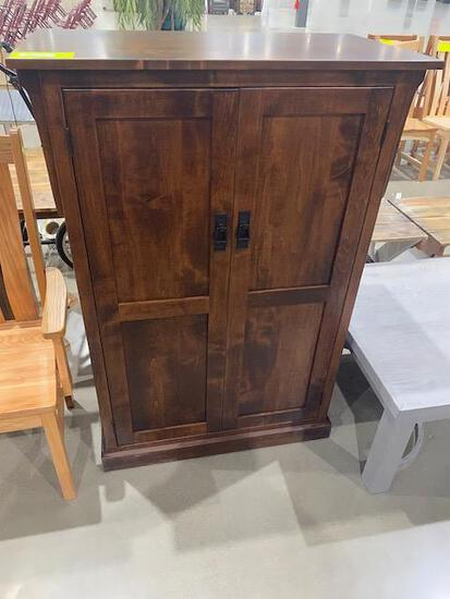 "Brown Maple Pantry 36"" x 20"" x 52"" Stain: Asbury"