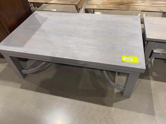 "Oak Coffee Table 50 1/2"" x 30 1/2/"" x 18"""