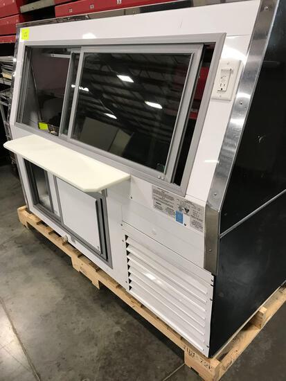 Cooler display case