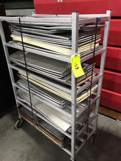 Cart and trays