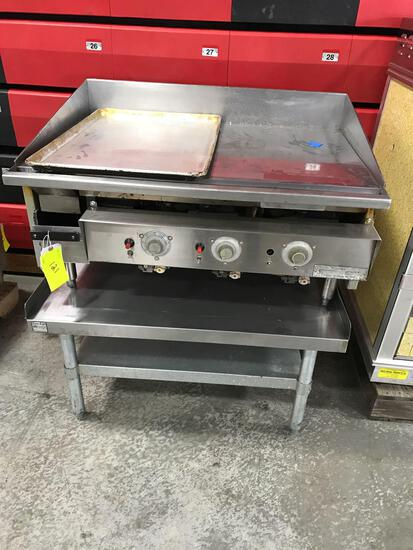 Griddle 36? with equipment stand