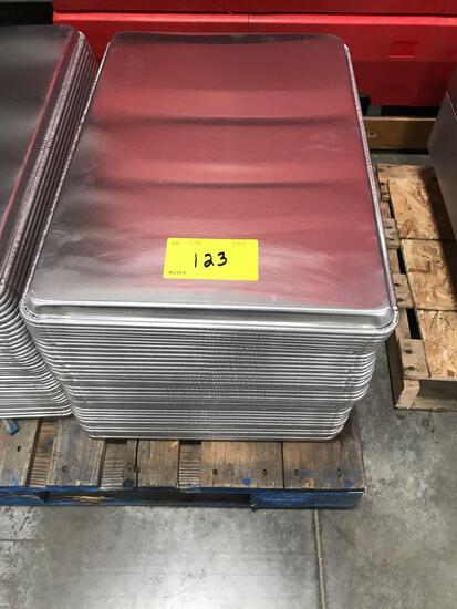 Sheet pans stack of 40