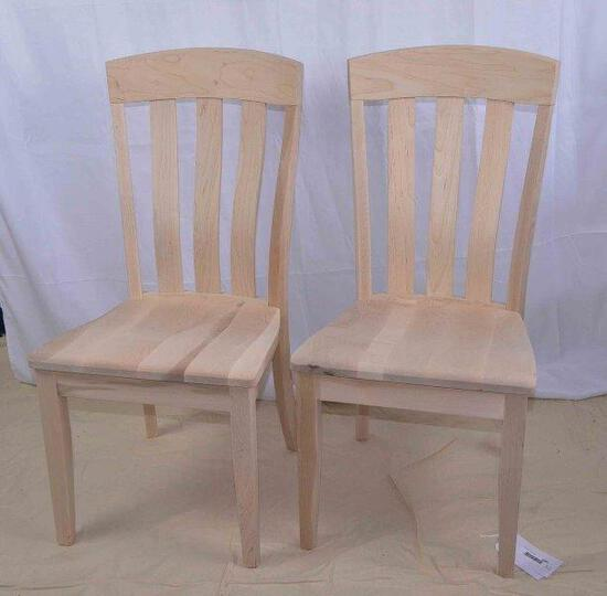 Cherrry Unfinished Side Chair
