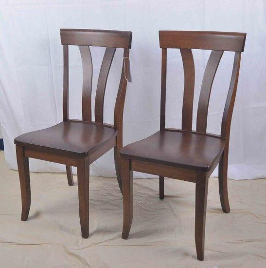 Brown Maple Side Chair