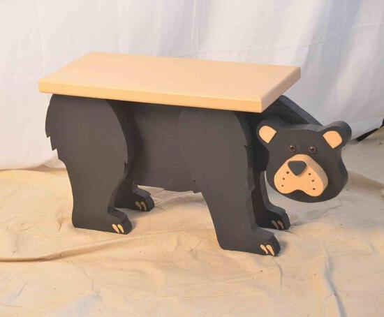 "24"" Bear Bench"