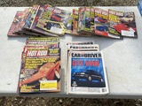 Hot Rod & Car Driver Magazines