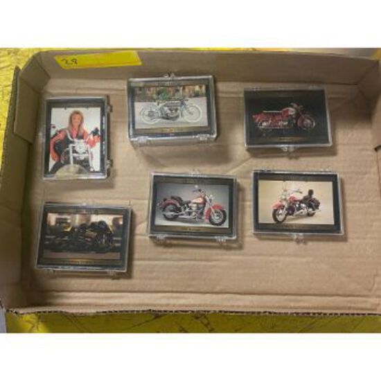Harley Davidson Motorcycle Collectible Cards