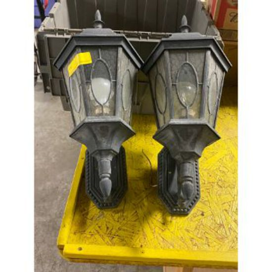Pair of Outdoor House Lights
