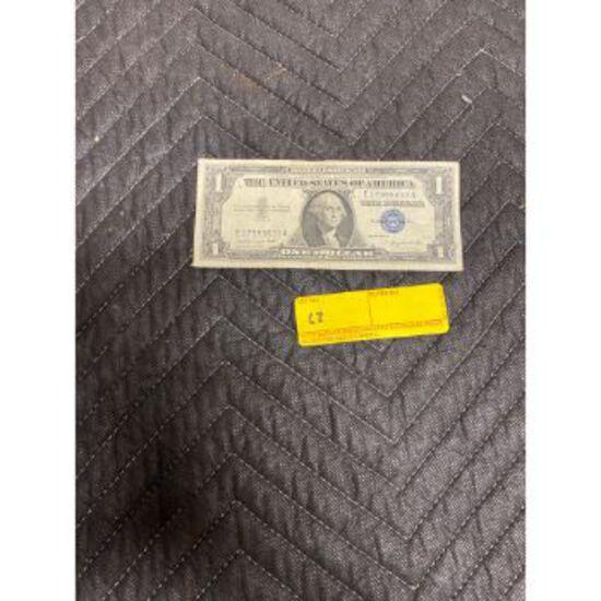 1957A Silver Certificate $1 Bill