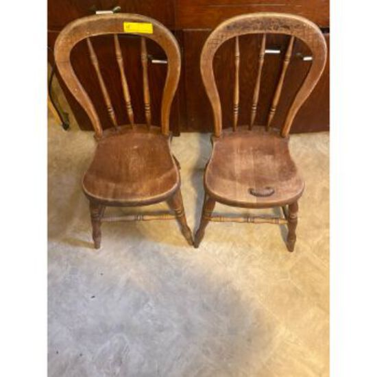 Spindle Back Kitchen Chairs