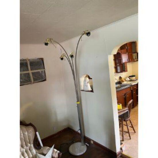 Marble Base Floor Lamp