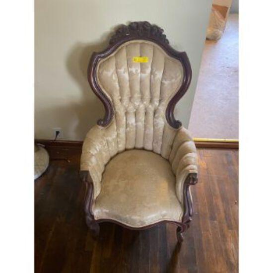 Rose Pattern Chair