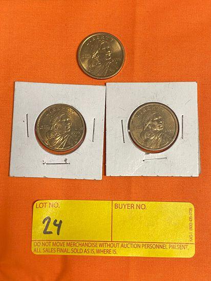 2000 Sacagawea Dollars