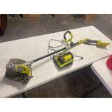 RYOBI 40V Battery Weed Eater (arm is broke)